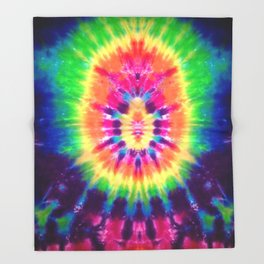 Tie-Dye #2 Throw Blanket