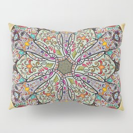 Mandala Elephants Pillow Sham