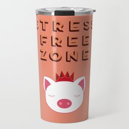 Stress Free Zone Travel Mug