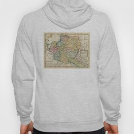 Vintage Map of Poland (1736) Hoody