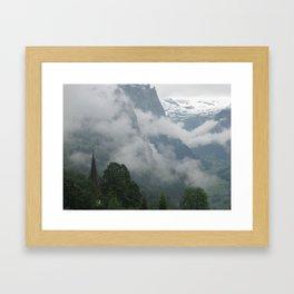 Falling Clouds 1 Framed Art Print