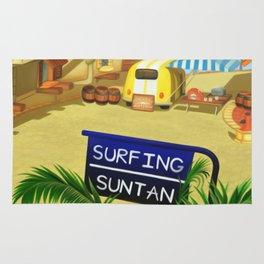 Costa Del Sol Surfing Suntan Rug