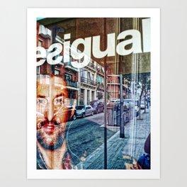 dabnotu @ blipfoto : Friday 7 October 2011: P1460331 _GIMP (alternate/unused) Art Print