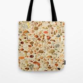 Vintage Mushroom Designs Collection Tote Bag