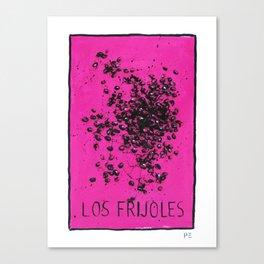 Los Frijoles  Canvas Print