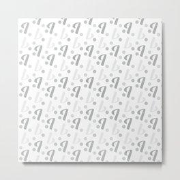 Instagram Letter I background #society6 #decor #buyart #artprint Metal Print