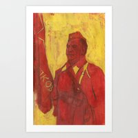 soviet Art Prints featuring Soviet by Gokhan Gokseven