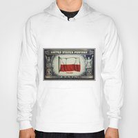 poland Hoodies featuring Flag of Poland by lanjee