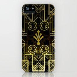 Art Deco Circuit iPhone Case