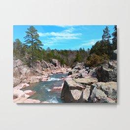 castor river shut-ins IV Metal Print