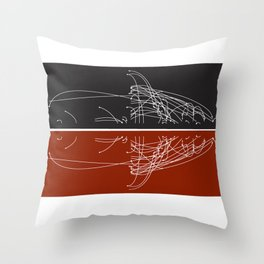Moby Dating Throw Pillow