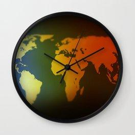 Countries Map Wall Clocks Society6
