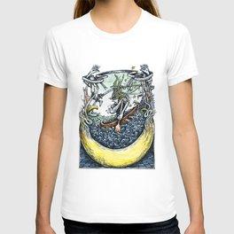 Crescent Canoeist T-shirt