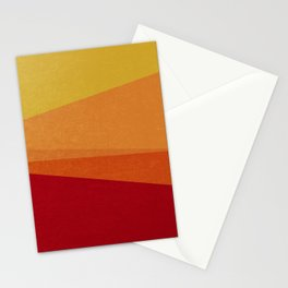 Stripe X Orange Peel Stationery Cards
