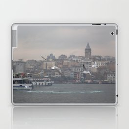 Galata tower, Karaköy, Istanbul - view across Golden Horn of the Bosphorus Laptop & iPad Skin
