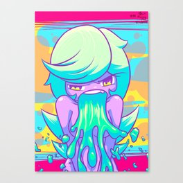 Sludge Canvas Print