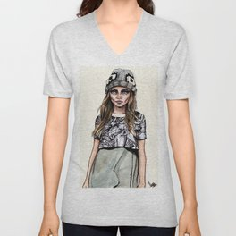 Cara for Giles 14/15 Unisex V-Neck