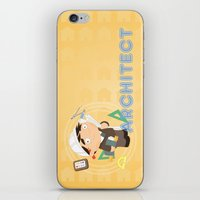 architect iPhone & iPod Skins featuring Architect by Alapapaju