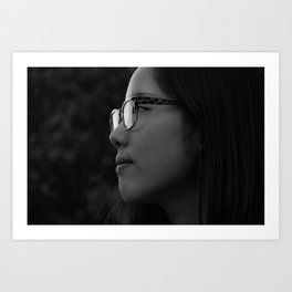 She's my sister! Art Print
