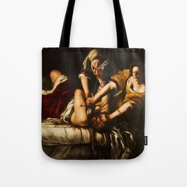 Judith and Holofernes by Artemisia Gentileschi Tote Bag