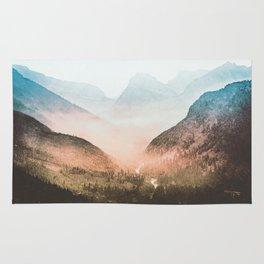 Mountain Adventure 21 - Nature Photography Rug