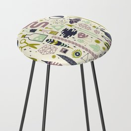 The Witch's Collection Counter Stool