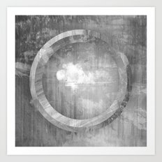 Circle Distortions #3 Art Print