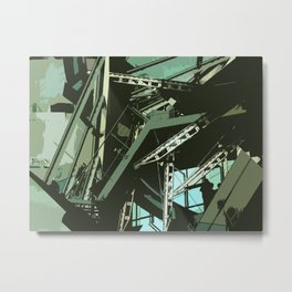 Transformative Space Metal Print