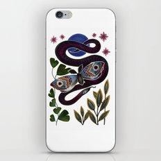 Moth & Snake iPhone & iPod Skin