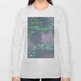 Water Lilies Monet 1905 Long Sleeve T-shirt