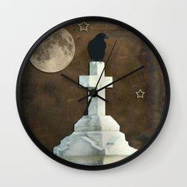 Old Stars Wall Clock
