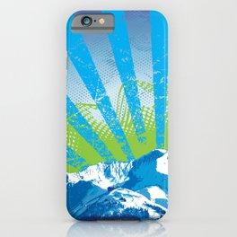 Mt. Alyeska Ski Rise by Crow Creek Cool iPhone Case