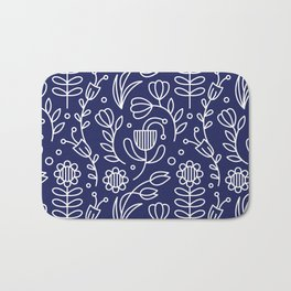 Flower medallion Bath Mat