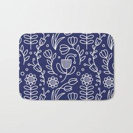 Flower medallion Bath Mat