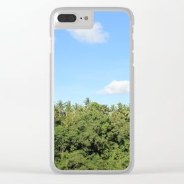 Ubud Forests Clear iPhone Case