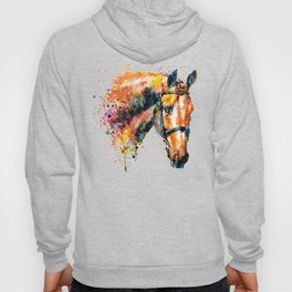 Colorful Horse Head Hoody
