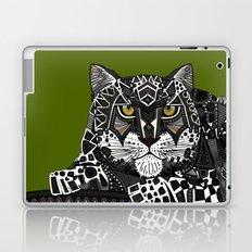 snow leopard green Laptop & iPad Skin