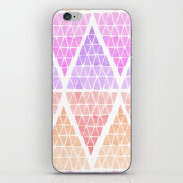 Stacked Triangles - Warm iPhone Skin
