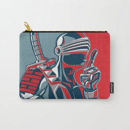 Snake Eyes don't talk much Carry-All Pouch