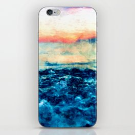Sea And Sunset iPhone Skin