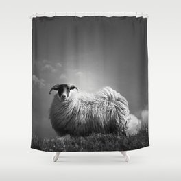 le fluff Shower Curtain