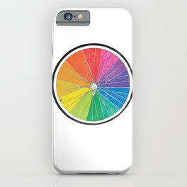 Color Wheel (Society6 Edition) iPhone Case