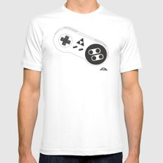A Link To Your Past. MEDIUM White Mens Fitted Tee