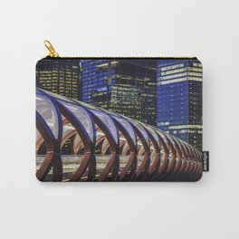 Calgary Peace Bridge Carry-All Pouch
