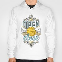 snape Hoodies featuring Harry Potter – I Open At The Close by Aaron Sales