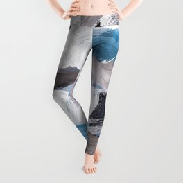 abstract painting VI Leggings