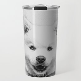 Minimalist Dog Travel Mug