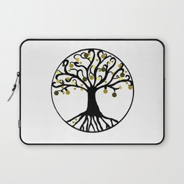 """Yggdrasil"",Golden,Tree of Life,HOME DECOR,Duvet Covers,Comforters,Bed spreads,Blankets,Backpack Laptop Sleeve"