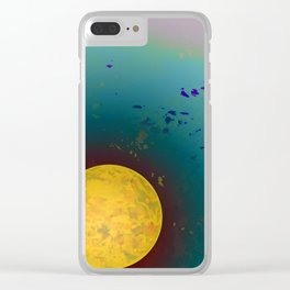 Dust 01 - Post Biological Universe Clear iPhone Case
