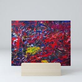 Simply Red Mini Art Print
